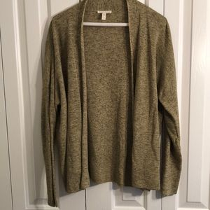 Eileen Fisher sz L lightweight lite green sweater